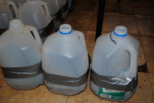 WS water jugs